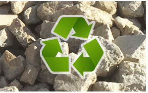 Recycling Asphalt at Fallbrook location